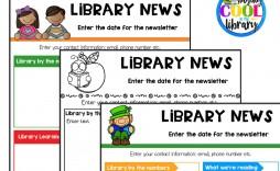 004 Beautiful Elementary School Newsletter Template Concept  Clas Teacher Free Counselor