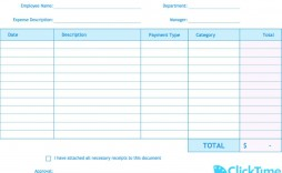 004 Beautiful Expense Report Template Free Highest Clarity  Pdf Excel Download