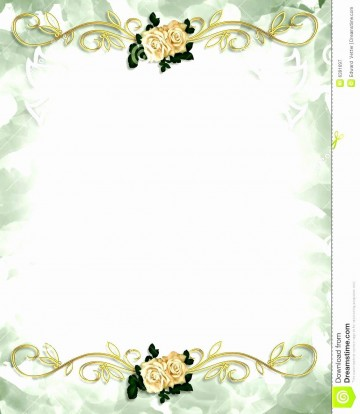 004 Beautiful Free Download Invitation Card Design  Birthday Party Blank Wedding Template Software360