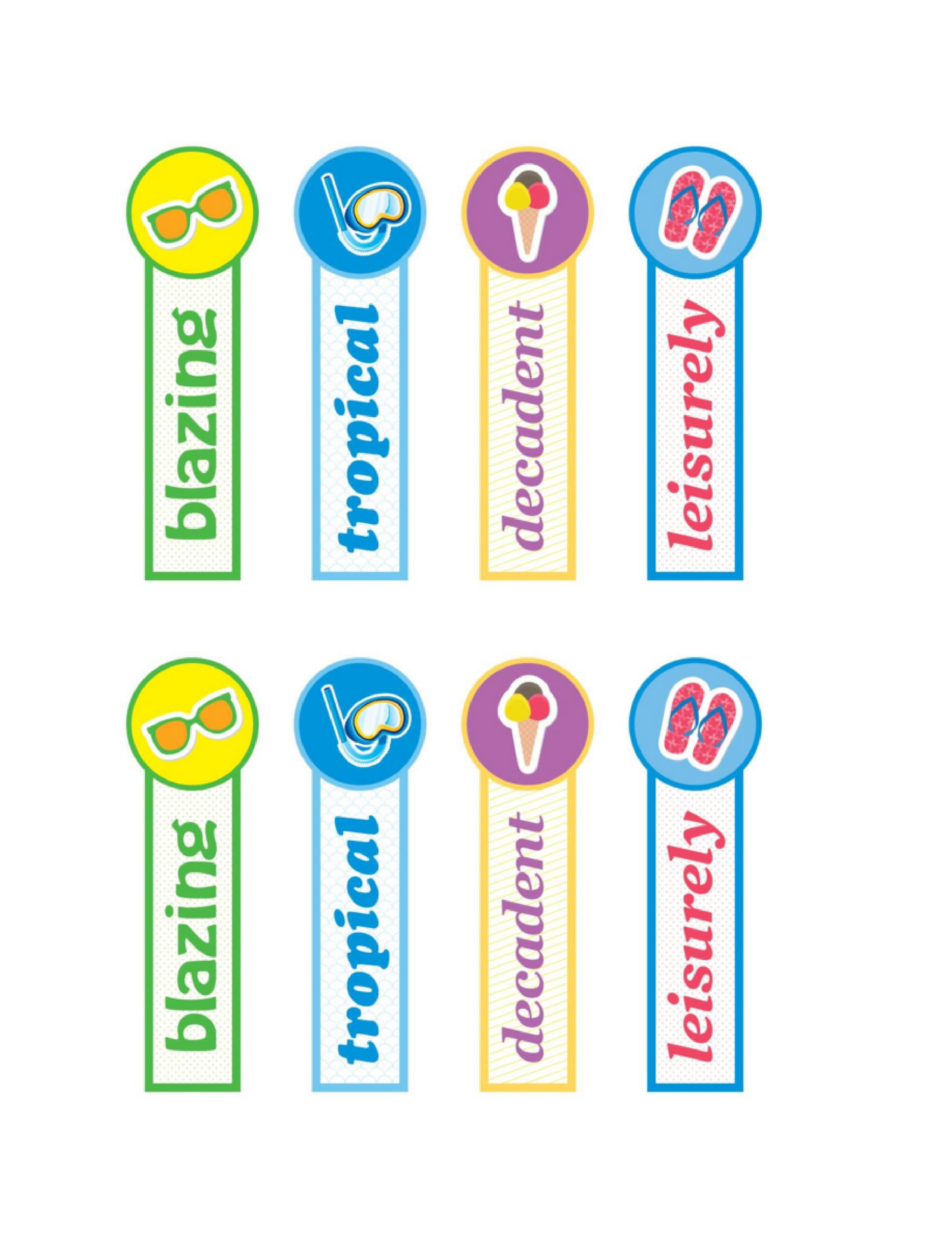 004 Beautiful Free Printable Bookmark Template High Definition  Templates Download Photo For TeacherFull