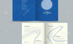 004 Beautiful Half Fold Brochure Template Concept  Free Microsoft Word Indesign