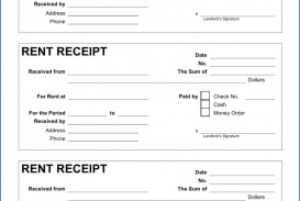 004 Beautiful House Rent Receipt Sample Doc Example  Format Download Bill Template India