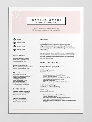 004 Beautiful Make A Resume Template Free Example  Writing Create Format320