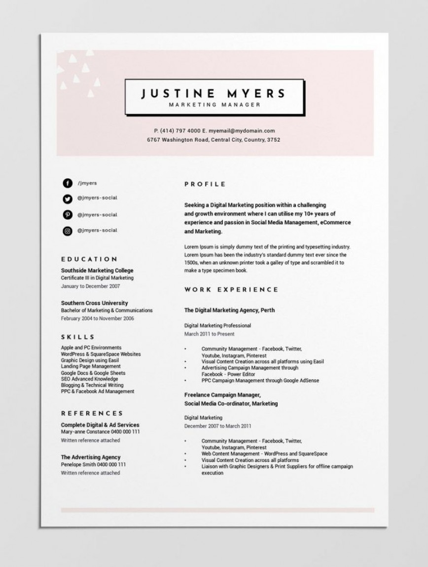 004 Beautiful Make A Resume Template Free Example  How To Write Create Format Writing868