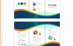 004 Beautiful M Word Brochure Template Free Design  Microsoft Tri Fold Download