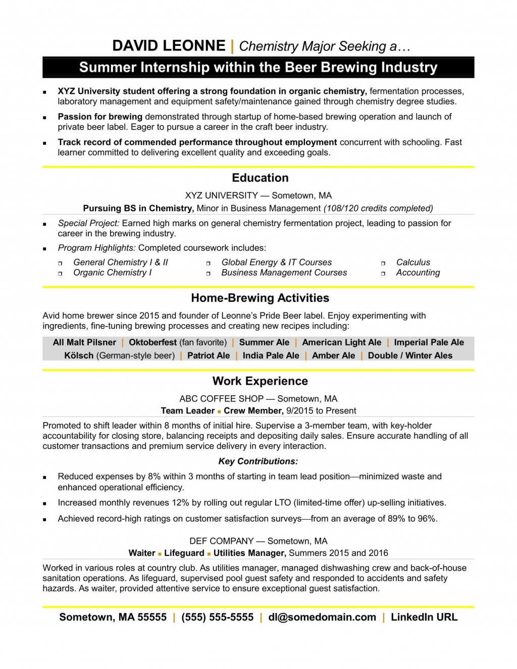 004 Beautiful Resume Template For Intern Picture  Interns Internship In Engineering Law ExampleLarge
