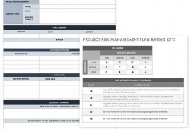 004 Beautiful Software Project Management Plan Example Pdf Design  Risk Template