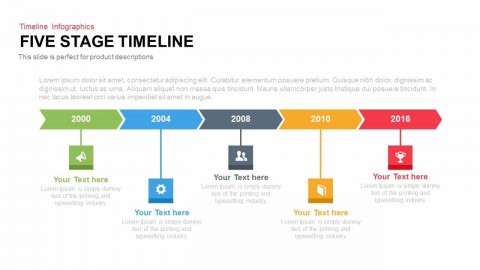 004 Beautiful Timeline Format For Presentation Picture  Template Presentationgo Example480