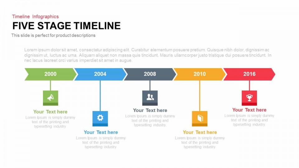 004 Beautiful Timeline Format For Presentation Picture  Template Presentationgo Example960