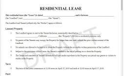 004 Best Apartment Rental Agreement Form Photo  Forms Lease Ontario Format Simple