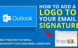 004 Best Email Signature Format For Outlook Inspiration  Template Microsoft 2007 Creating An