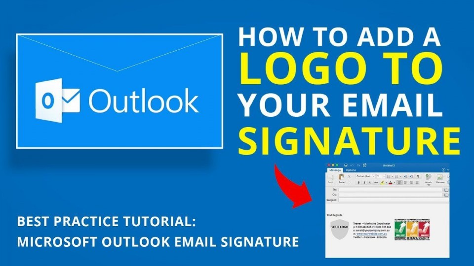 004 Best Email Signature Format For Outlook Inspiration  Example Template Microsoft960