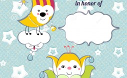 004 Best Free Baby Shower Card Template For Word Example