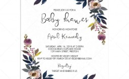 004 Best Free Editable Baby Shower Invitation Template For Word Highest Clarity  Microsoft