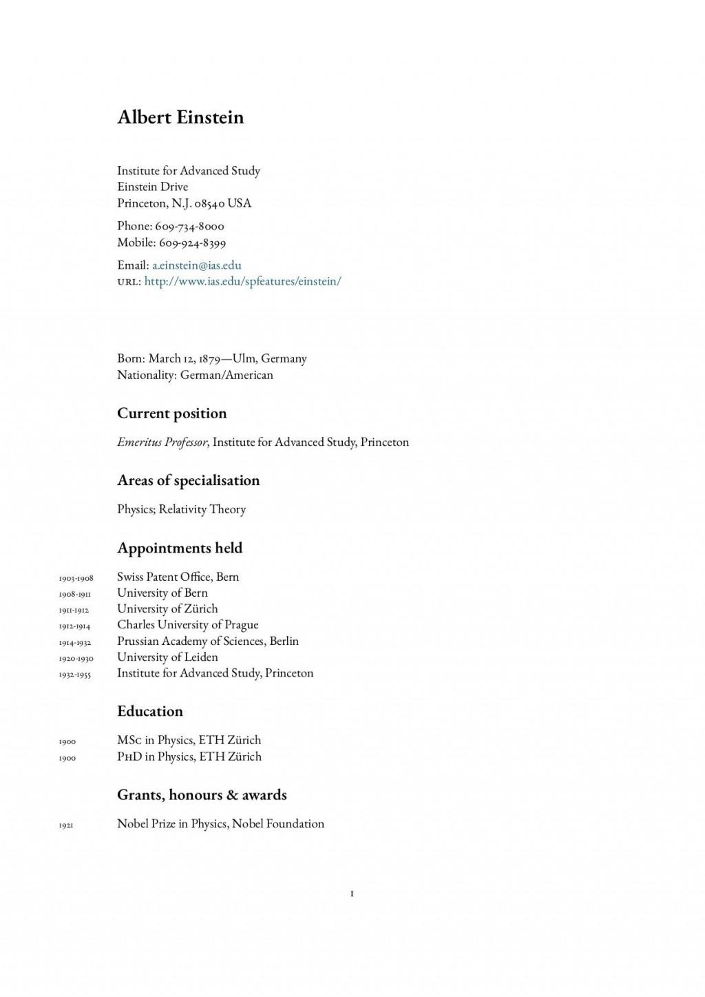004 Best Latex Resume Template Phd High Def  Cv Graduate Student EconomicLarge