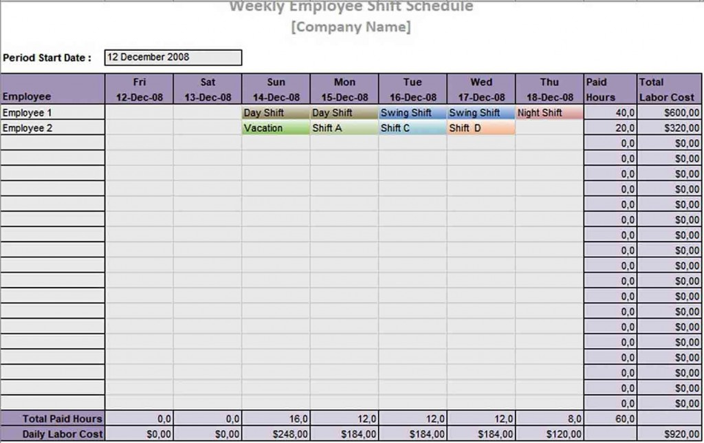 004 Best Rotating Work Schedule Example Concept  Examples ShiftLarge