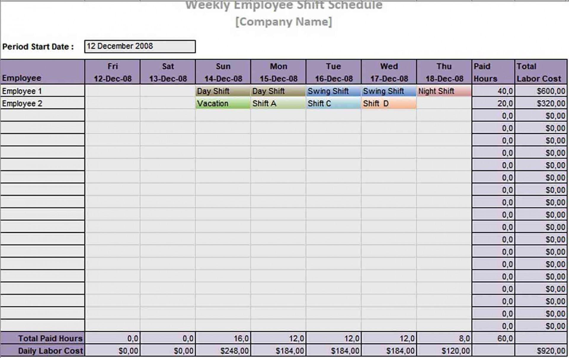 004 Best Rotating Work Schedule Example Concept  Examples Shift1920