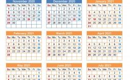 004 Best School Year Calendar Template Example  Excel 2019-20 Word