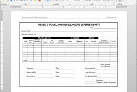 004 Best Travel Expense Report Template Sample  Format Excel Free
