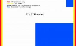 004 Breathtaking 5 X 7 Postcard Template Microsoft Word Design