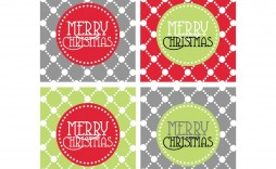 004 Breathtaking Christma Label Template Free Photo  Present Gift Tag Editable Mailing