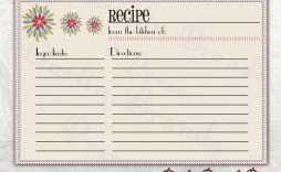 004 Breathtaking Free 4x6 Recipe Card Template For Microsoft Word High Definition  Editable