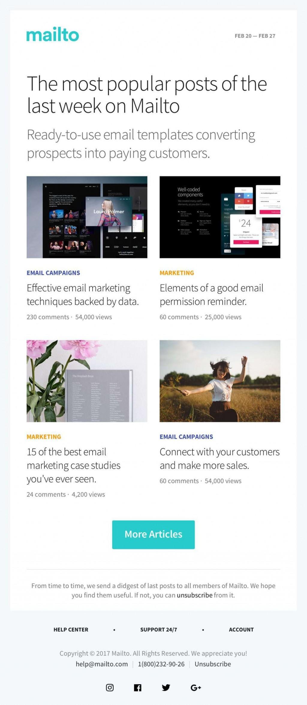 004 Breathtaking Free Email Newsletter Template Download Design  Busines PsdLarge