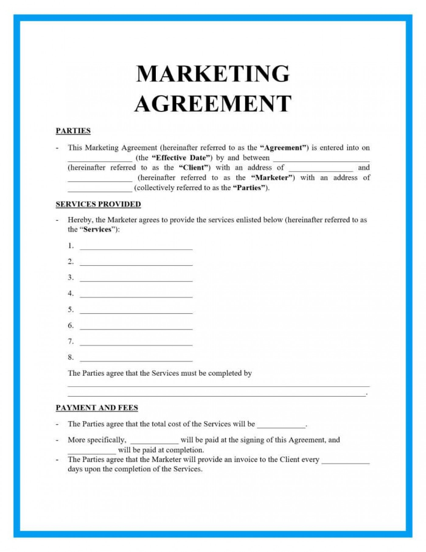 004 Breathtaking Free Service Contract Template Doc Highest Quality 1400