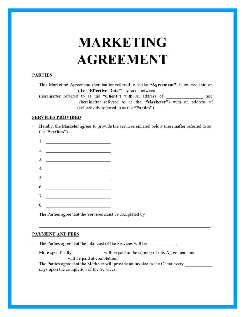004 Breathtaking Free Service Contract Template Doc Highest Quality Full