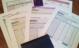 004 Breathtaking Free Simple Monthly Household Budget Template Photo