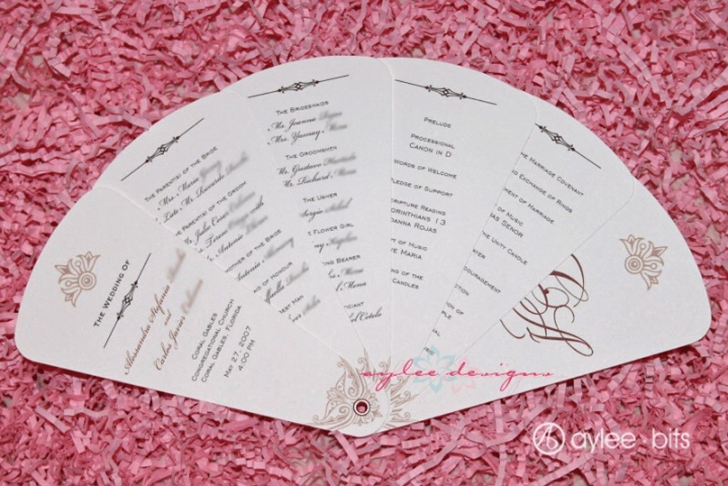 004 Breathtaking Free Wedding Program Fan Template Photo  Templates Printable Paddle WordLarge
