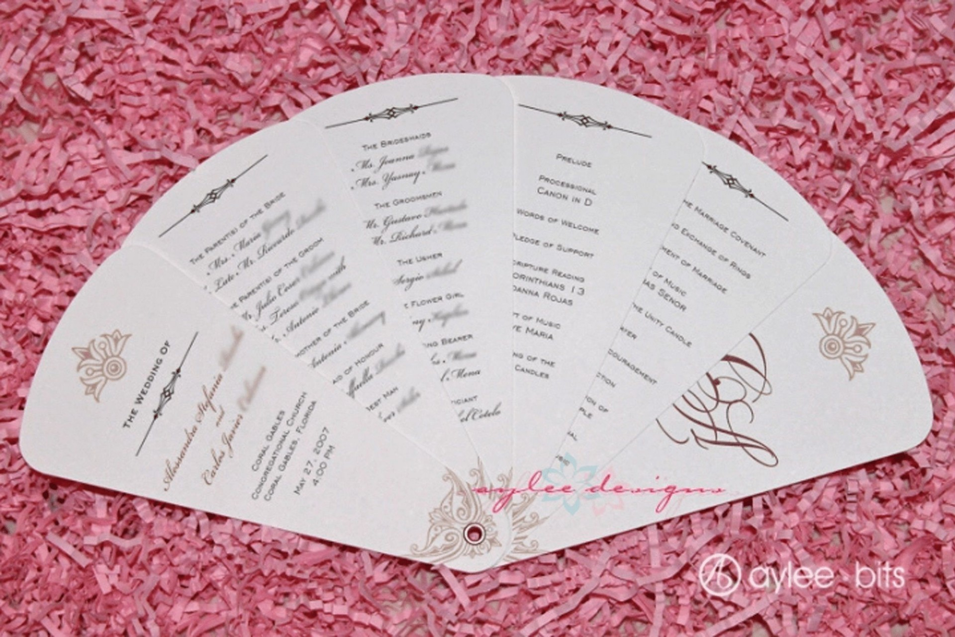 004 Breathtaking Free Wedding Program Fan Template Photo  Templates Printable Paddle Word1920