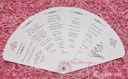004 Breathtaking Free Wedding Program Fan Template Photo  Templates Printable Paddle Word
