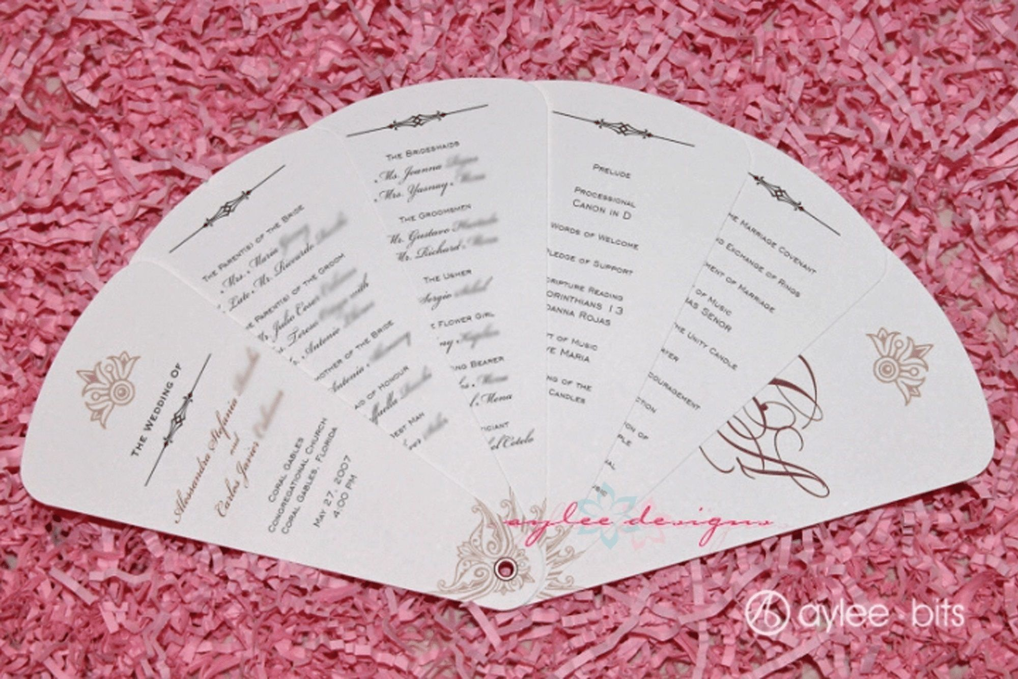 004 Breathtaking Free Wedding Program Fan Template Photo  Templates Printable Paddle WordFull