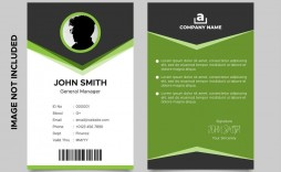 004 Breathtaking Id Card Template Free Download High Definition  Design Photoshop Identity Student Word