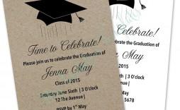 004 Breathtaking Microsoft Word Graduation Invitation Template Concept  Templates Party