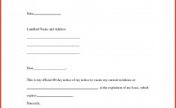 004 Dreaded 60 Day Notice Template Photo  To Landlord Move Out Letter Apartment Lease