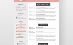 004 Dreaded Creative Resume Template Free Microsoft Word Inspiration  Download For Fresher