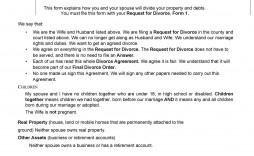 004 Dreaded Divorce Settlement Agreement Template Photo  Sample New York Marital Uk South Africa