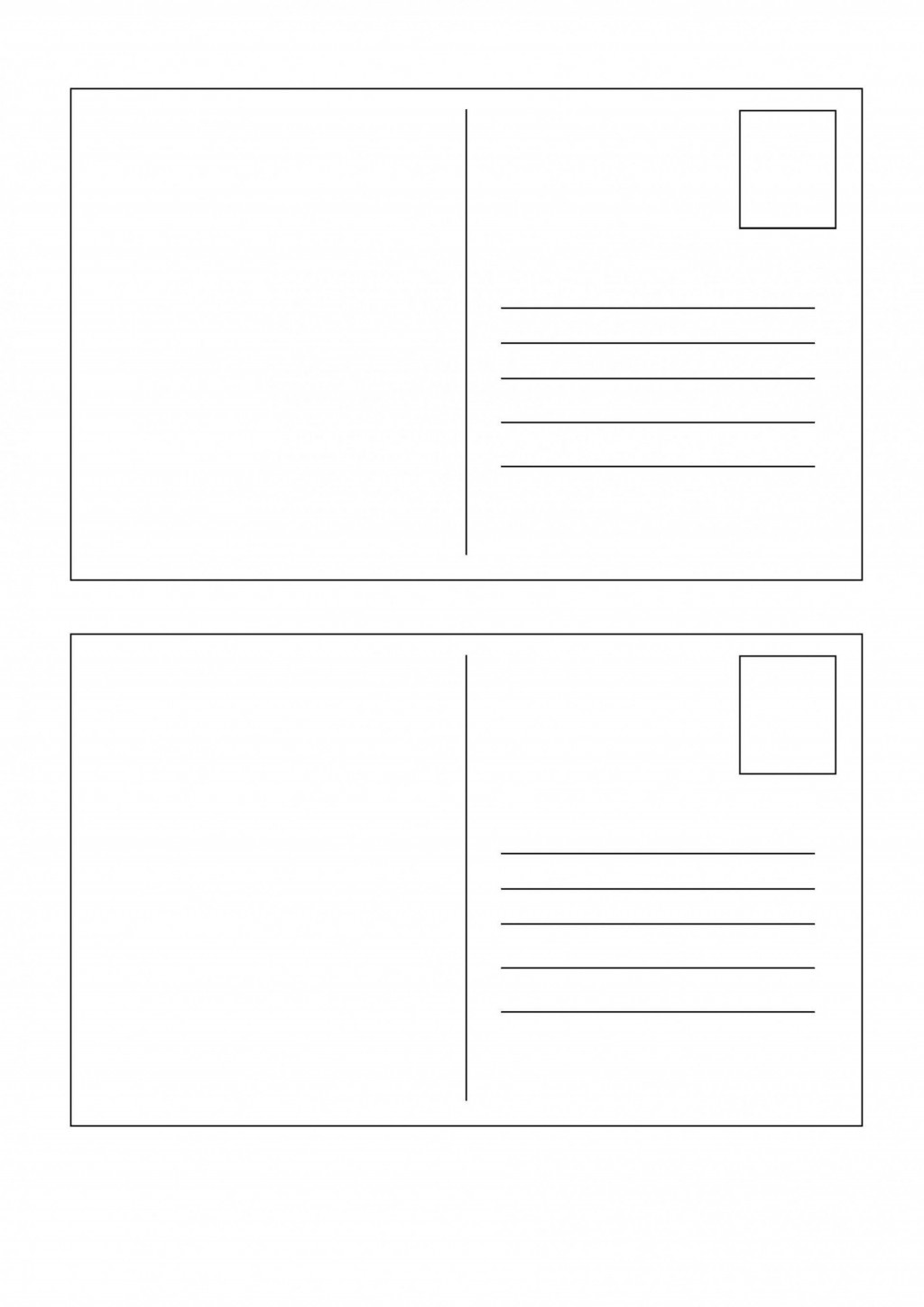 004 Dreaded Rsvp Postcard Template For Word Example Large