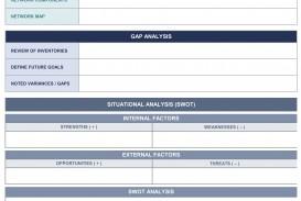 004 Dreaded Strategic Planning Template Excel Free Idea