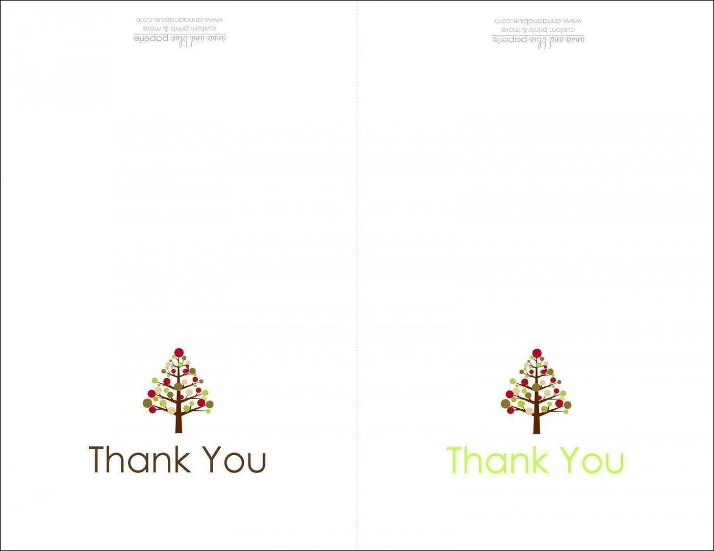 004 Dreaded Thank You Note Card Template Word Photo 1400