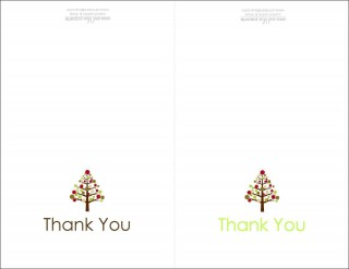 004 Dreaded Thank You Note Card Template Word Photo 320