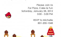 004 Excellent Birthday Party Invitation Template Word Free Idea  Download Invite