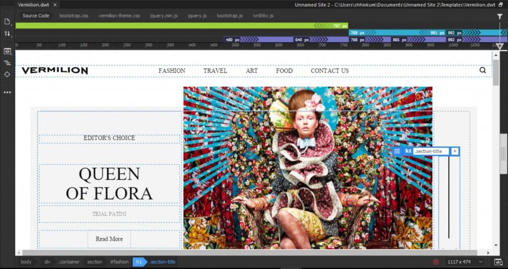 004 Excellent Dream Weaver Web Template Idea  TemplatesLarge