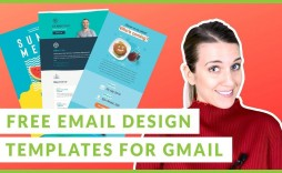 004 Excellent Free Email Template For Gmail Highest Quality  Signature