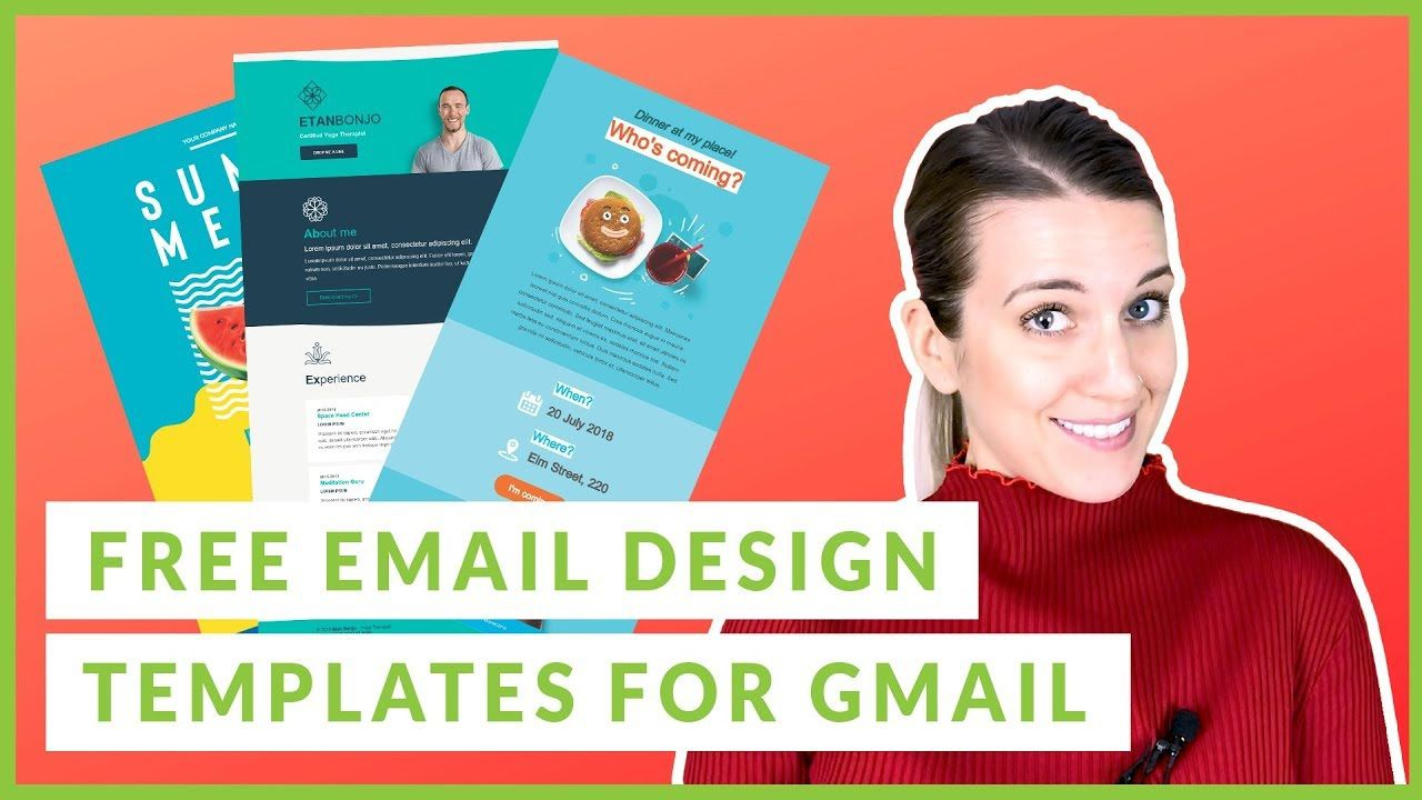 004 Excellent Free Email Template For Gmail Highest Quality  SignatureFull