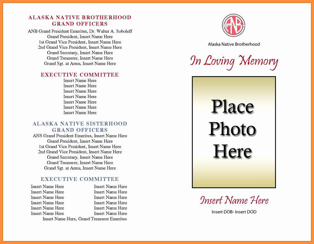 004 Excellent Free Funeral Program Template High Resolution  Word Catholic Editable PdfFull