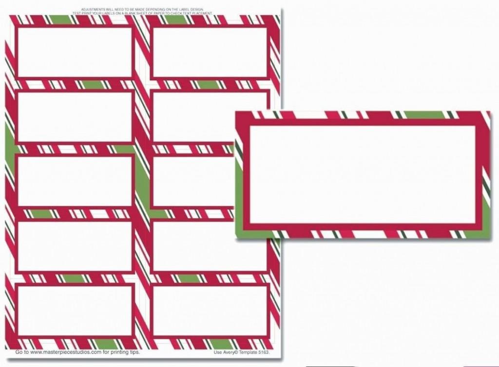 004 Excellent Free Printable Return Addres Label Template Sample  Templates ChristmaLarge