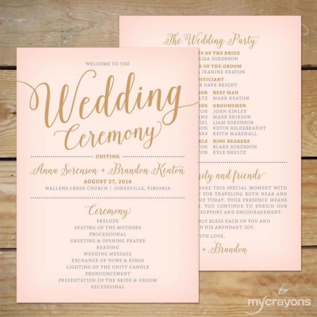 004 Excellent Free Printable Wedding Program Paddle Fan Template Photo  TemplatesLarge